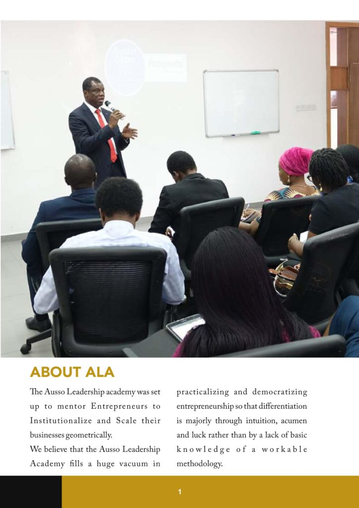Unveiling the mission and purpose of the Ausso Leadership Academy